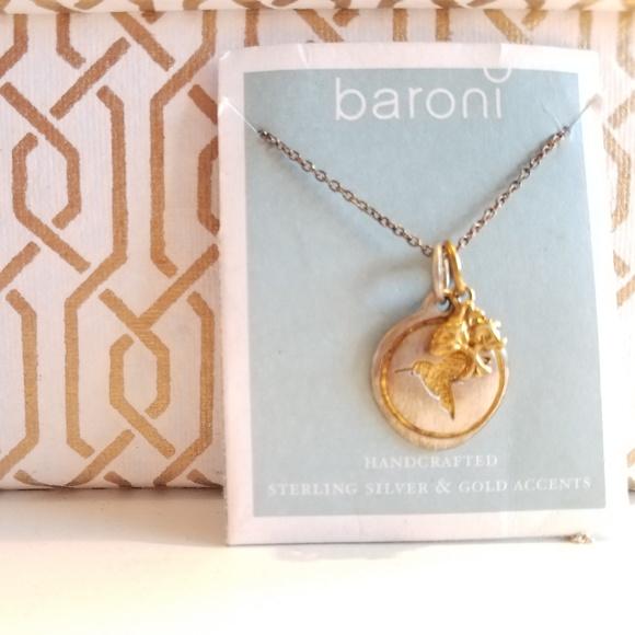 69cc33f4de1114 Baroni Designs Jewelry | Baroni Sterling Silver Charm Necklace ...